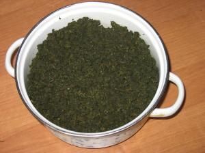 Иван-чай после суточной ферментации
